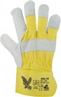 Adler TOP Rindnarbenleder-Handschuhe, gefüttert, naturfarben