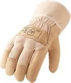 Rindnarbenleder-Handschuhe, naturfarben