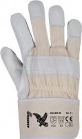 Adler M Rindnarbenleder-Handschuhe, Moltonfutter