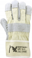 Falke-C Rindspaltleder-Handschuhe, naturfarben