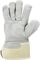 Falke V  Rindspaltleder-Handschuhe, großer Innenhandbesatz