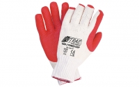 Power-Grip Latex-Handschuhe mit Strickbund