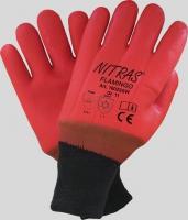 Nitras Flamingo, PVC-Handschuhe