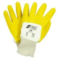 Nitras Latex-Handschuhe mit Strickbund