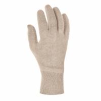 Baumwolltrikot-Handschuhe LEICHT mit Strickbund