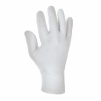 Baumwolltrikot-Handschuhe ohne Schichtel MITTELSCHWER