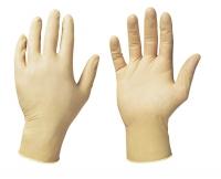 Latex-Einweghandschuhe MALE, gepudert