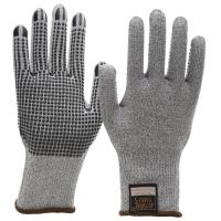 NITRAS TAEKI5 Schnittschutzhandschuhe, grau, Nitrilnoppen
