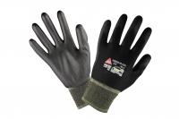 Padua black Nylon Handschuhe mit PU Beschichtung