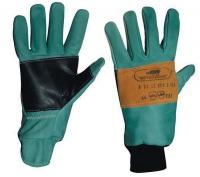 Rindleder-Polyester-Kombi-Handschuhe NARA