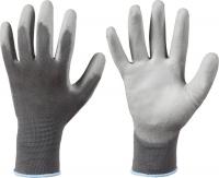 Touch Shenzhen Polyamid Handschuhe mit PU Beschichtung