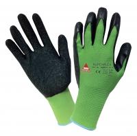 Superflex Nylon Handschuhe mit Latex Beschichtung
