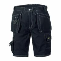 teXXor® Canvas- BERMUDA -Shorts (270 g/m²) - schwarz