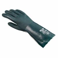 teXXor® Chemikalienschutz-Handschuhe PVC grün