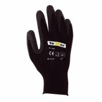 teXXor® Nylon-Strickhandschuhe mit Latexbeschichtung