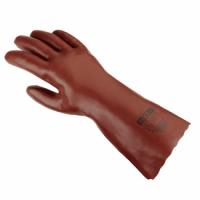 texxor® PVC-Handschuhe ROTBRAUN